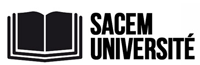 Logo Sacem université