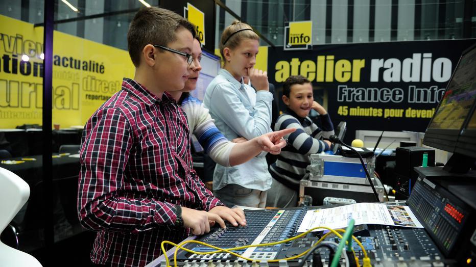 Ateliers autour des métiers de la radio | Maison de la Radio