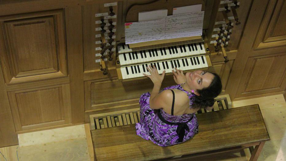 La fabrique de l'orgue : Anne-Gaëlle Chanon   Maison de la Radio