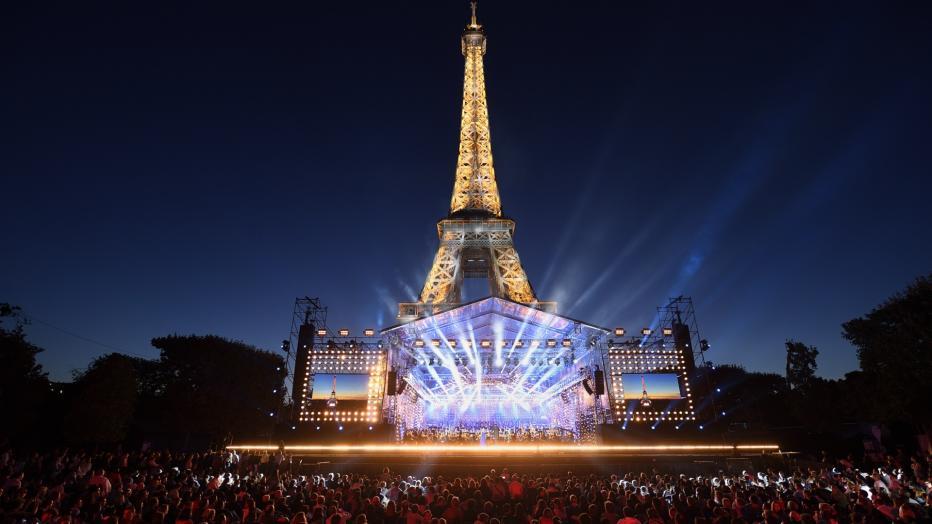 Concert Tour Eiffel