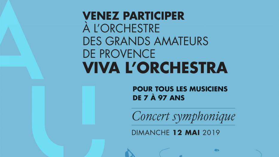 Viva l'Orchestra Aix 2019 recrute ! | Maison de la Radio