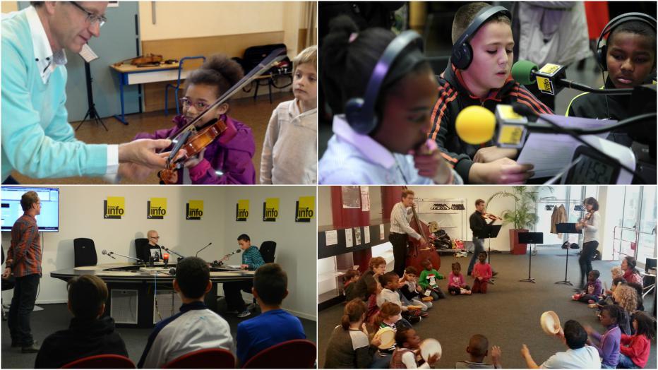 Parcours inter-académiques « À l'école des ondes » Musique et radio  | Maison de la Radio