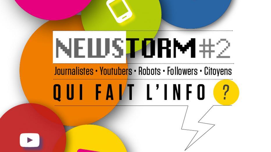 NewStorm : qui fait l'info ? | Maison de la Radio
