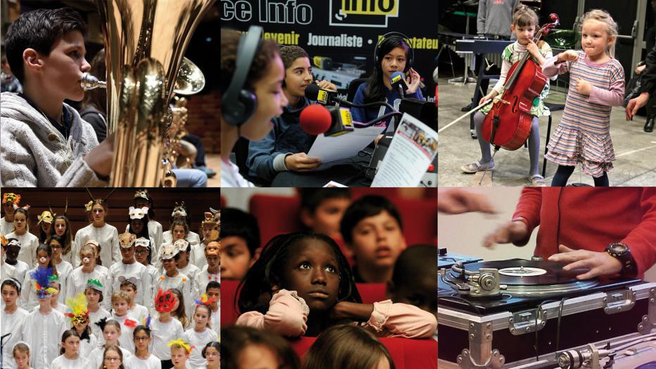 Concerts, ateliers et visites pour les scolaires | Maison de la Radio
