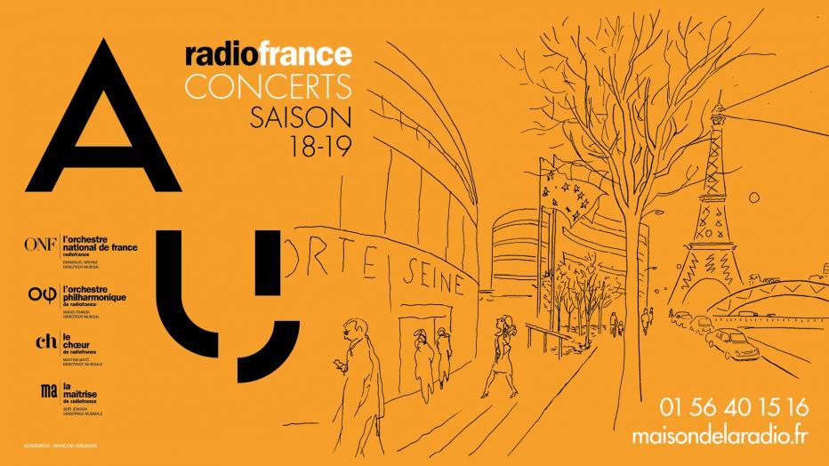 Concerts de Radio France - Saison 18/19 | Maison de la Radio