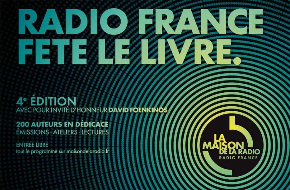 Radio France fête le livre > 28, 29, 30 nov. 2014 | Maison de la Radio