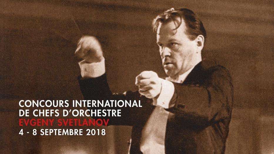 4e concours international de chefs d'orchestre Evgeny Svetlanov 2018 | Maison de la Radio