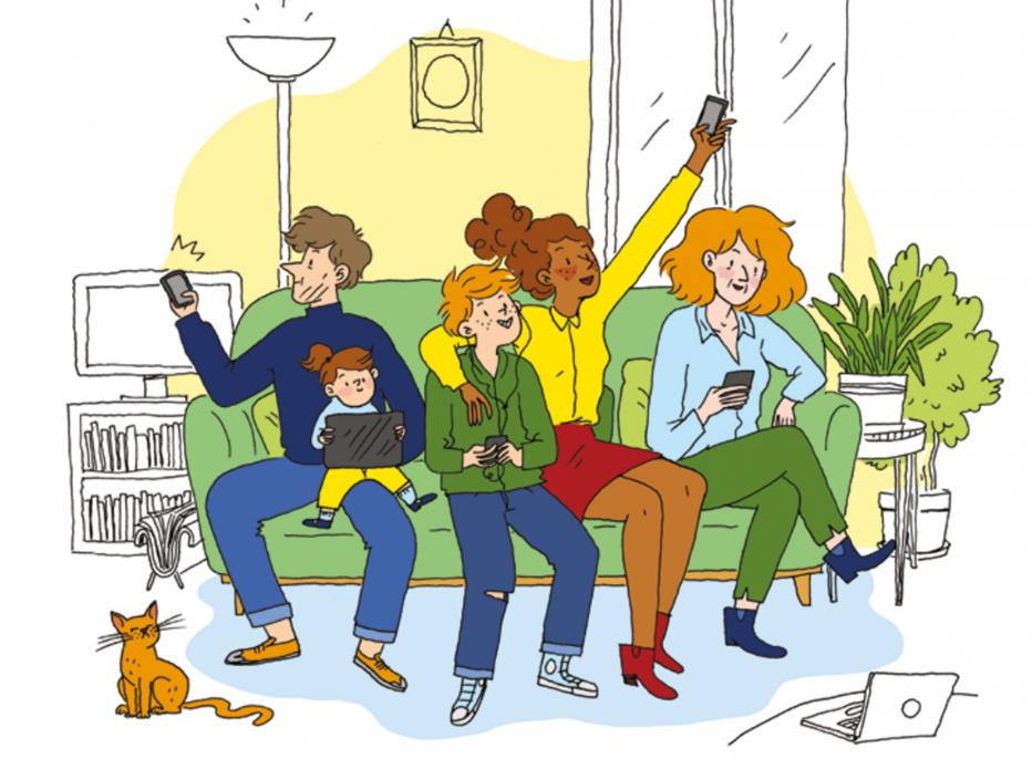 Guide pratique de la famille tout écran | Maison de la Radio