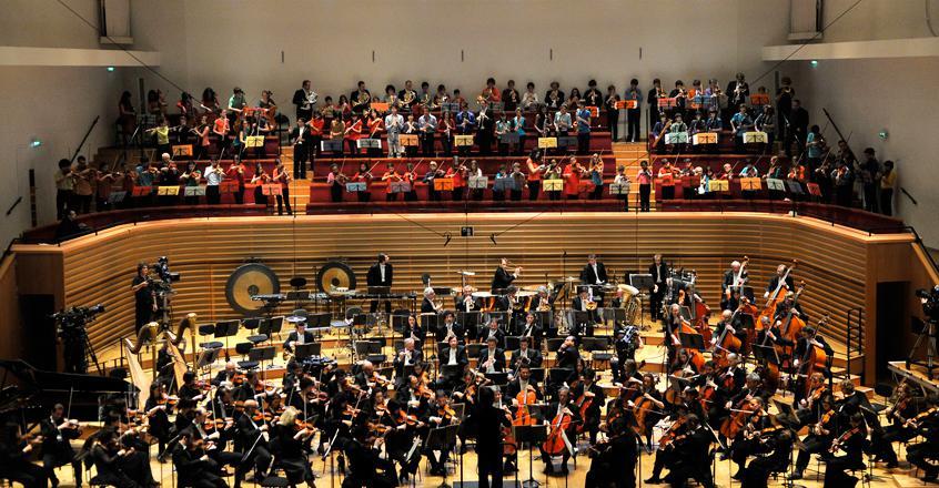 L'orchestre Philharmonique ambassadeur de l'UNICEF   Maison de la Radio