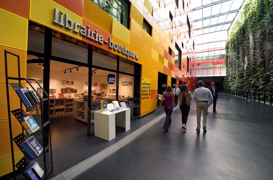Librairie-boutique   Maison de la Radio