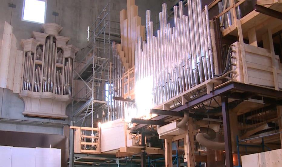 Premières notes pour l'orgue de l'Auditorium | Maison de la Radio