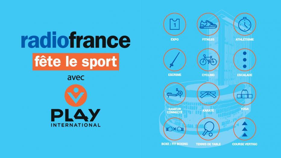 Radio France fête le sport avec PLAY International   Maison de la Radio