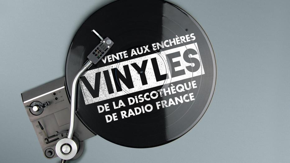 Vente aux enchères de vinyles | Maison de la Radio