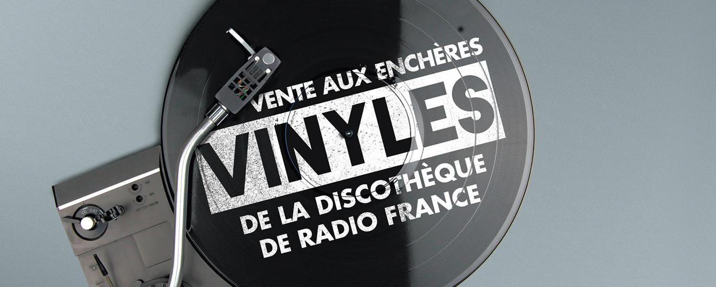enchères vinyles 2017 | Maison de la Radio