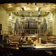 Démontage de l'orgue du studio 104 | Maison de la Radio