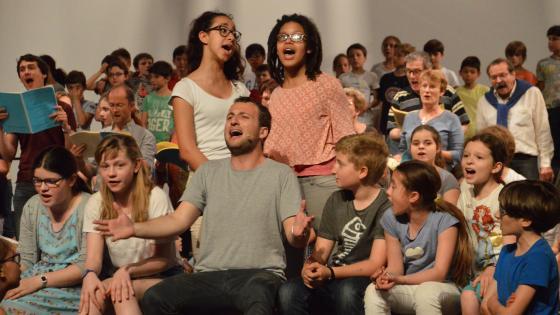 Atelier de pratique vocale en avant concert | Maison de la Radio